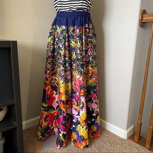 Cupio Skirts - 🆕 listing! Floral maxi skirt